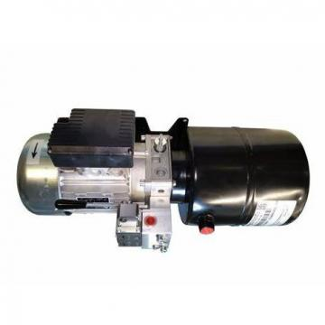 "Bucher Hydraulic 3/8"" 45 l/min five bank double acting lever valve 3 position sp"