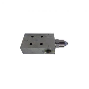 "Bucher Hydraulic 3/8"" 45 l/min four bank double acting lever valve 3 position sp"